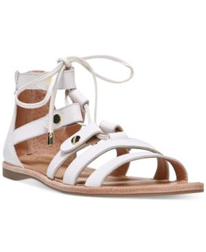 Franco Sarto Baxter Lace-Up Flat Sandals Women's Shoes