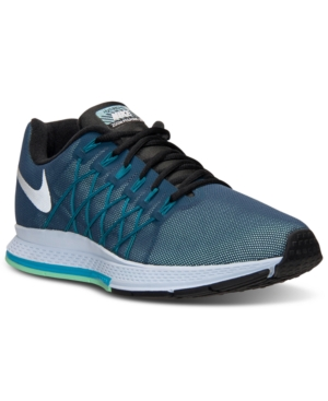 10739edf117d ... (Squadron Blue  UPC 886916771742 product image for Nike Men s Zoom  Pegasus 32 Flash Running Sneakers from Finish Line ...