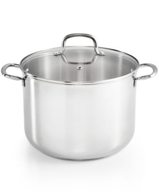 Martha Stewart Collection Stainless Steel 10-Qt. Stockpot, Only at Macy's