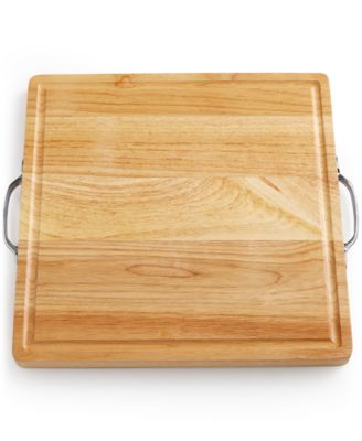 Martha Stewart Collection Wood Board with Handles, Only at Macy's