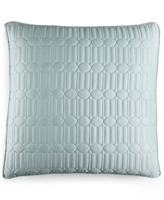 Hotel Collection Modern Interlace Quilted European Sham, Only at Macy's