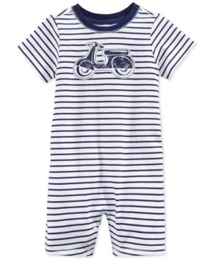 First Impressions Baby Boys' Stripe Moped Sunsuit, Only at Macy's