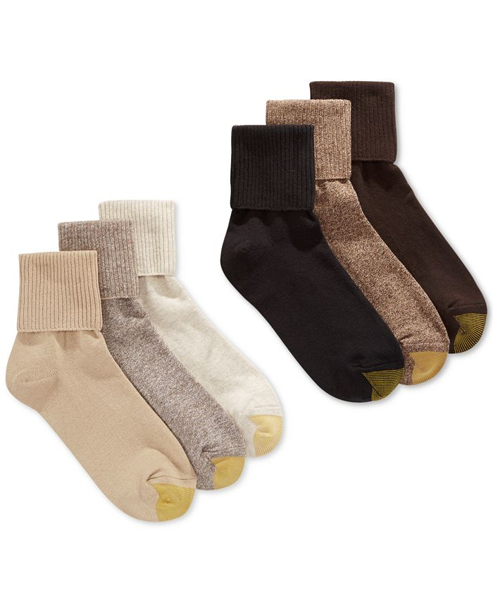 Gold Toe - Turn Cuff 6 Pack Socks