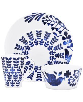Sandefjord  Porcelain 2-Pc. Lidded Sugar Dish