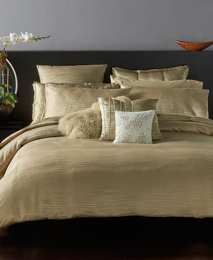 Home Reflection Gold Dust Bedding, Donna Karan Home Reflection Gold Dust Bedding Collection
