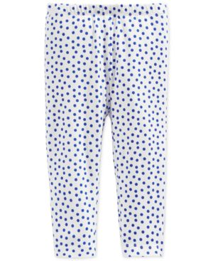 First Impressions Baby Girls' Dot-Print Leggings, Only at Macy's