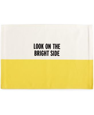 kate spade new york Food For Thought Collection Look On The Bright Side Placemat