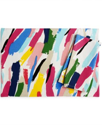 kate spade new york Brush Strokes Table Linens Collection Napkin
