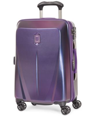 "Travelpro Walkabout 3 21"" Expandable Hardside Spinner Suitcase, Only at Macy's"