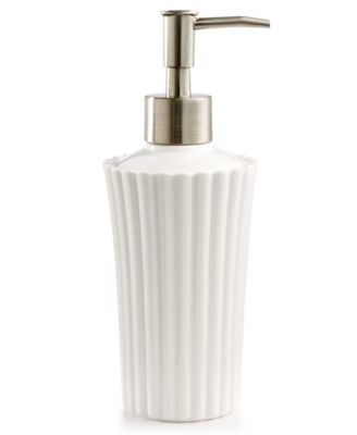 Martha Stewart Collection Ceramic Scallop Lotion Dispenser, Only at Macy's