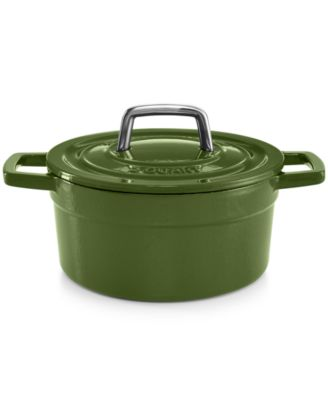 Martha Stewart Collection Collector's Enameled Cast Iron 2 Qt. Round Casserole, Only at Macy's