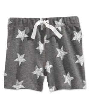 First Impressions Baby Boys' Star Knit Shorts, Only at Macy's