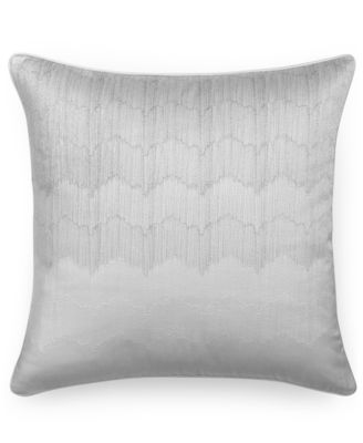 "Hotel Collection Finest Crescent Ombr® Embroidered 20"" Square Decorative Pillow, Only at Macy's"