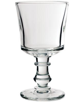 La Roch®re Glassware, Set of 6 Jacques Coeur Water Glasses
