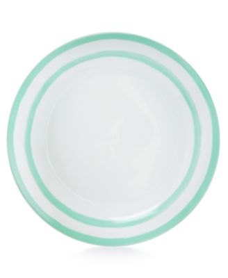 Martha Stewart Collection Whim Dinnerware Collection Mint Dinner Plate, Only at Macy's