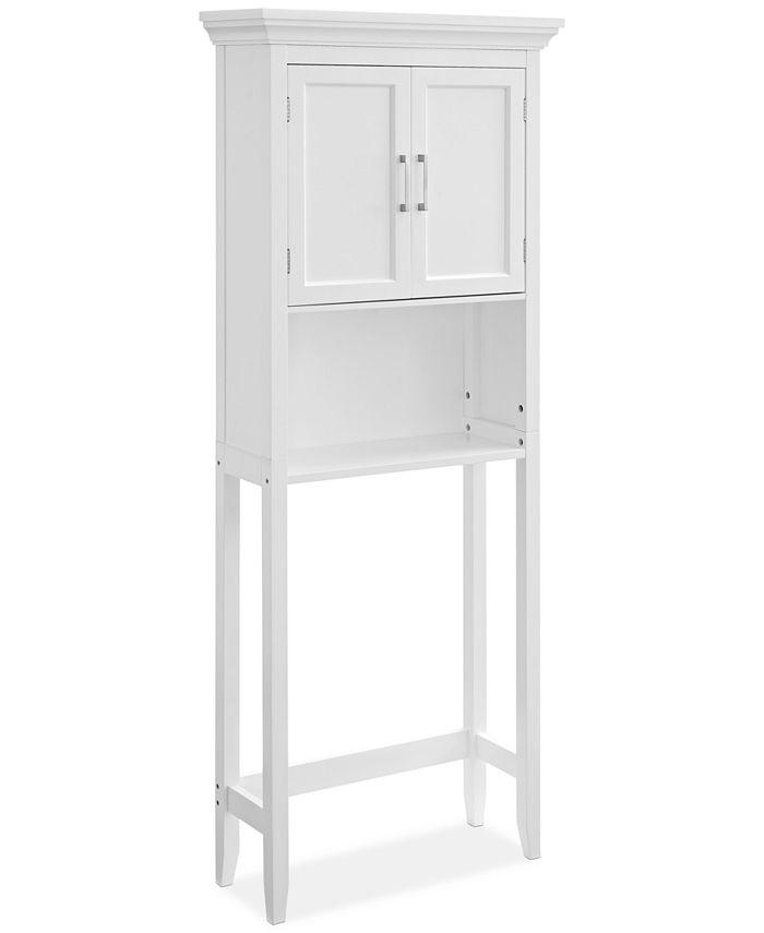 Furniture - Simpli Home Hayde Space Saver Cabinet, Quick Ship