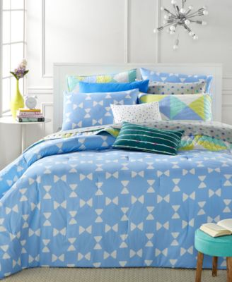 Whim by Martha Stewart Collection Bow Tie 5-Piece King Duvet Set, Only at Macy's