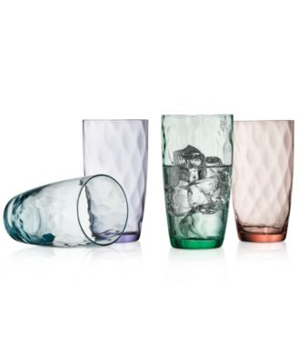 The Cellar Optic Color Collection 4-Pc. Highball Glasses, Only at Macy's