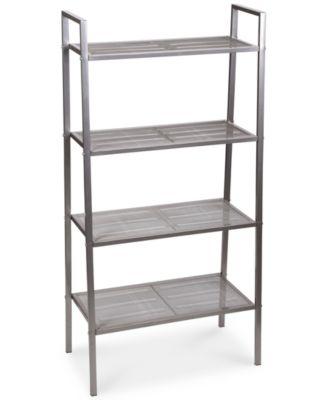 Household Essentials 4-Tier Storage Rack