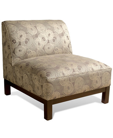 Mineral Nickel Living Room Chair Slipper Chair
