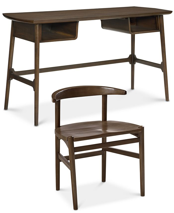 Furniture - Hirono Home Office , 2 Piece Set (Desk and Chair)