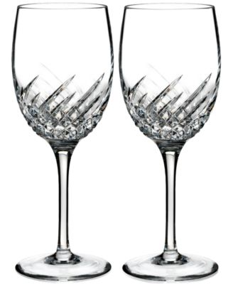 Waterford Essentially Wave Collection 2-Pc. Wine Glasses