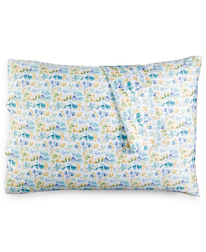 bluebellgray - Rowan Floral-Print Pair of King Pillowcases