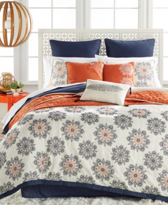 Marla 10-Pc. Embroidered Queen Comforter Set