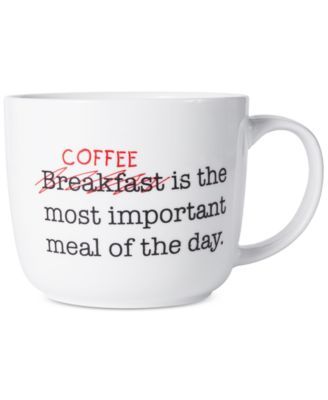 Pfaltzgraff Coffee Is The Most Important Meal Of Day Mug