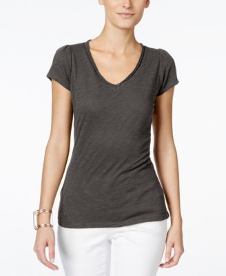 Image of INC International Concepts V-Neck T-Shirt, Only at Macy's