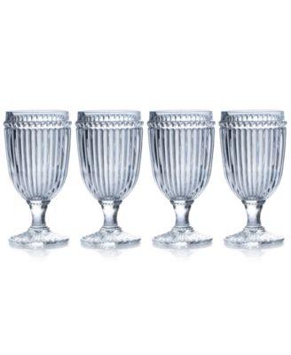Mikasa Italian Countryside Iced Beverage Glasses, Set of 4