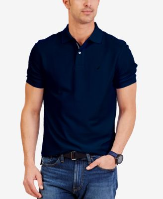 Image of Nautica Men's Performance Deck Polo Shirt