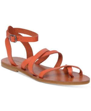 Lucky Brand Women's Aubree Flat Sandals Women's Shoes