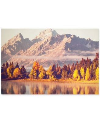 Graham & Brown Autumnal Mountains Canvas Print