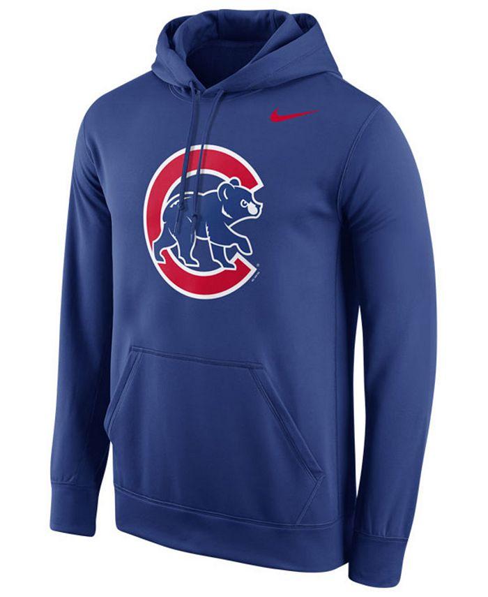 Nike - Men's Chicago Cubs Performance Hoodie