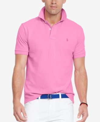 Image of Polo Ralph Lauren Men's Classic-Fit Mesh Polo Shirt