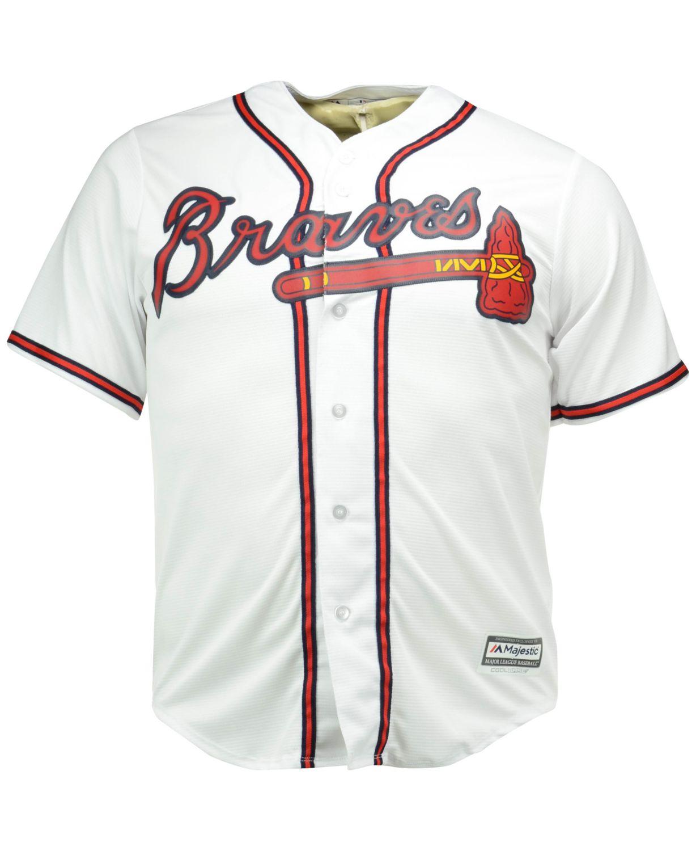 Majestic Men's Greg Maddux Atlanta Braves Cooperstown Replica Jersey & Reviews - Sports Fan Shop By Lids - Men - Macy's