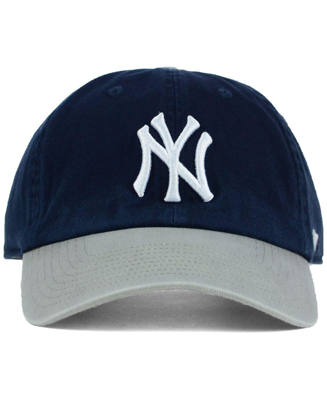 '47 Brand New York Yankees Core Clean Up Cap & Reviews - Sports Fan Shop By Lids - Men - Macy's