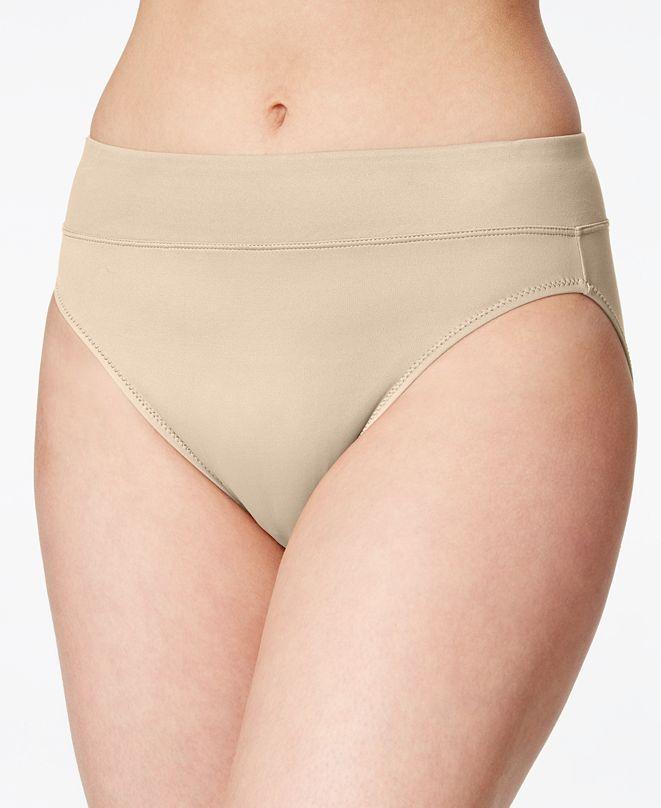Warner's No Pinches No Problems Hi Cut Brief Underwear 5138