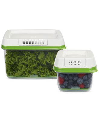 Rubbermaid FreshWorks 2-Pc. Produce Saver Set