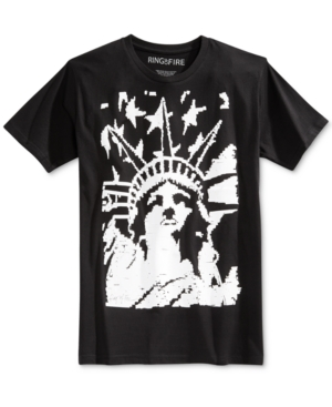 Ring of Fire Men's American Liberty Graphic-Print T-Shirt, Only at Macy's