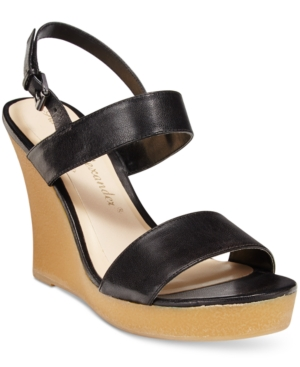 Athena Alexander by Callisto Beryl Platform Wedge Sandals Women's Shoes