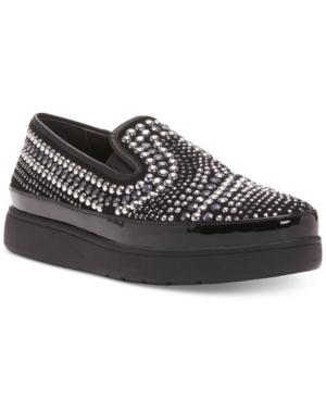 Donald J Pliner Mickey Embellished Slip-On Flats Women's Shoes