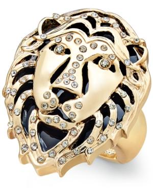 Thalia Sodi Gold-Tone Lion's Head Stretch Ring, Only at Macy's