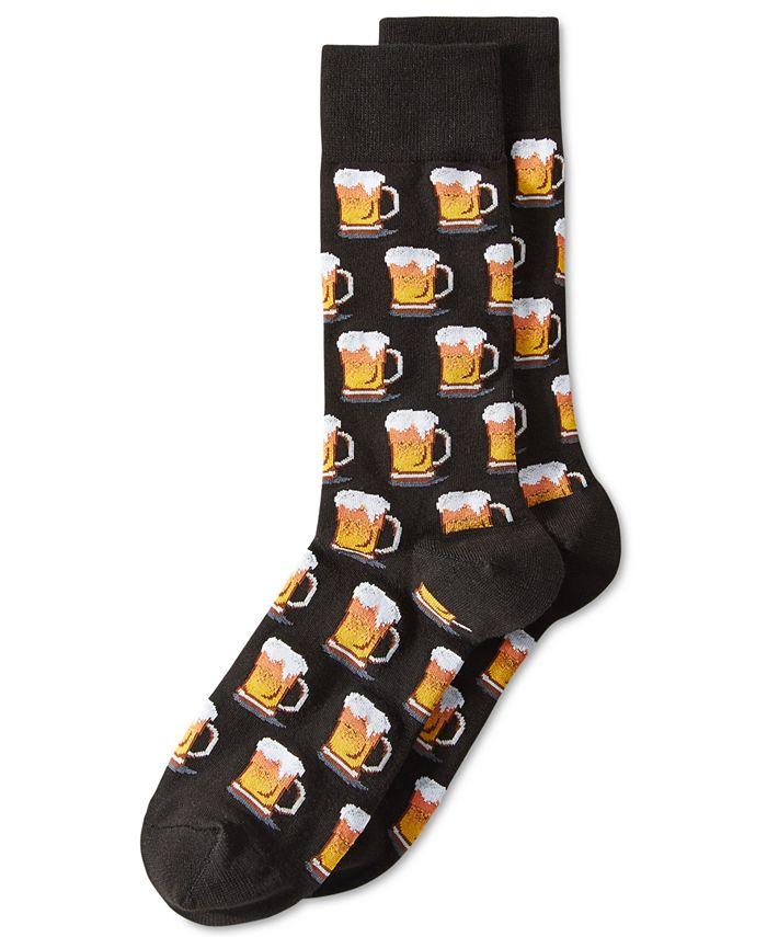 "Hot Sox - Men's ""Beer"" Socks"