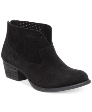 Jessica Simpson Dacia Perforated Booties Women's Shoes