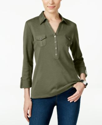 Image of Karen Scott Polo Top, Only at Macy's