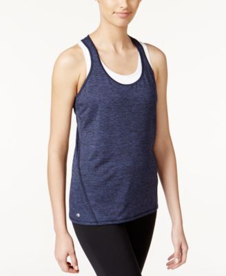 Image of Ideology Essential Racerback Performance Tank Top, Only at Macy's