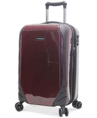 "Pathfinder Aviator 21"" Carry-On Expandable Hardside Spinner Suitcase, Only at Macy's"