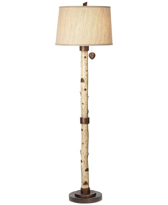 Kathy Ireland - Birch Tree Floor Lamp